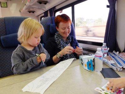 Activities on the train