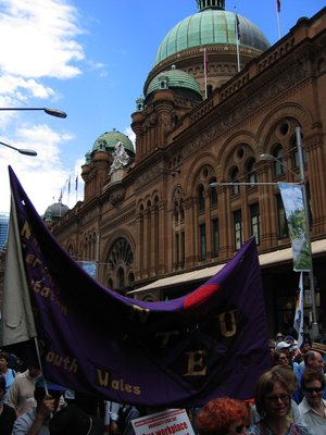 IR Protests in Sydney