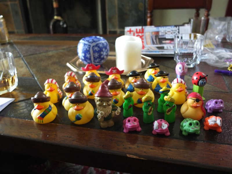 The duckies have arrived