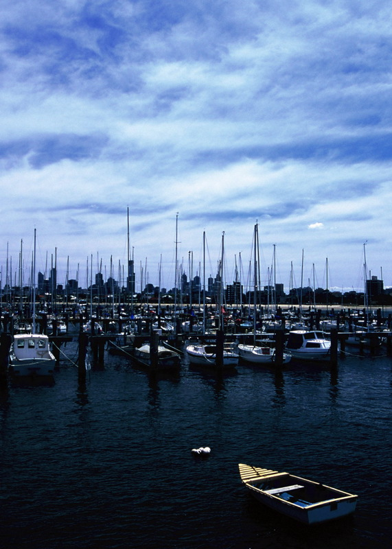 View of city from St Kilda