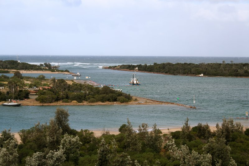 The Entrance at Lakes Entrance