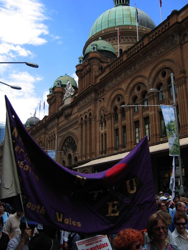 IR Protests in Sydney