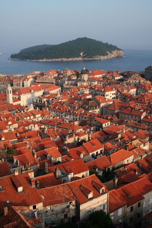 Dubrovnik roof tops