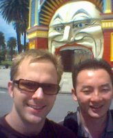 Peter & Hien at Luna Park