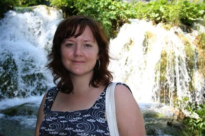Janelle at Plitvice