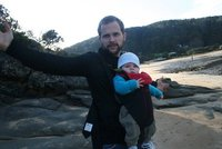 Miles and me at Great Ocean Road