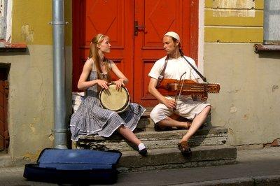 Street Musicians in Tallinn