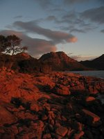 Sunset at Freycinet Peninsula, Tasmania
