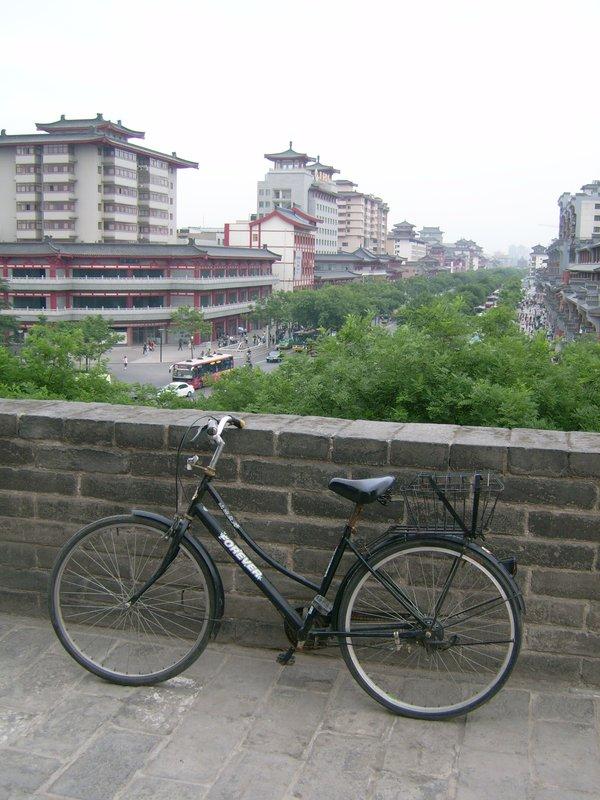 My trusty bike!