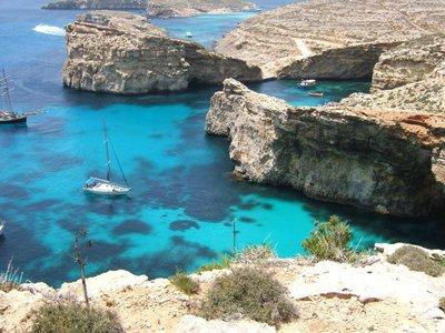 blue lagoon,Malta