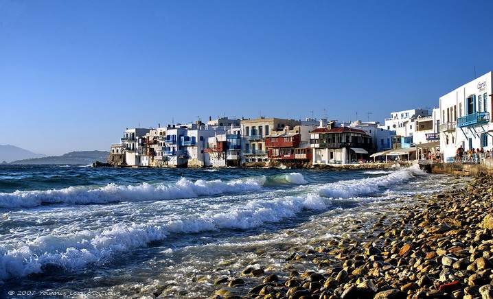 Mykonos island - Little Venezia(Greece)