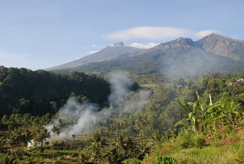 Rinjani Mountain At Lombok Island - Indonesia