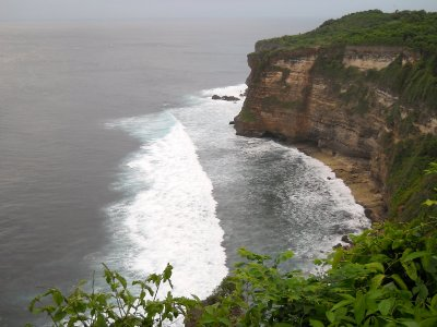 Coastline view from Uluwatu Temple, Bali