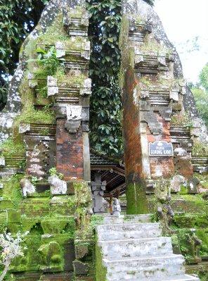Temple gates, Bali
