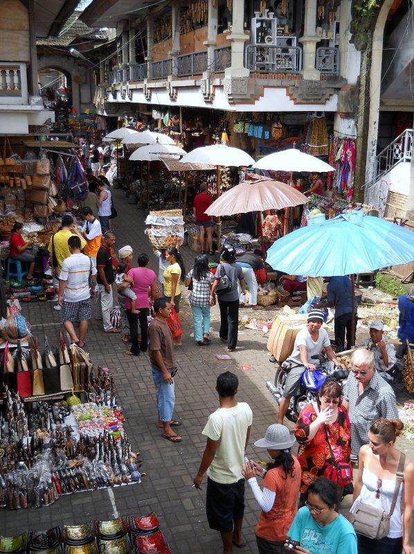 Market at Ubud, Bali