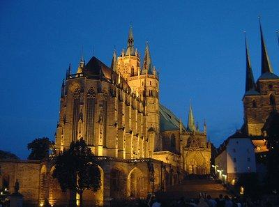 Erfurt Spires