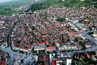 Korca City Albania