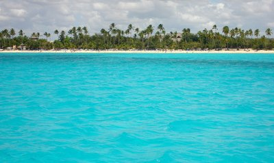Punta Cana - Saona Island view