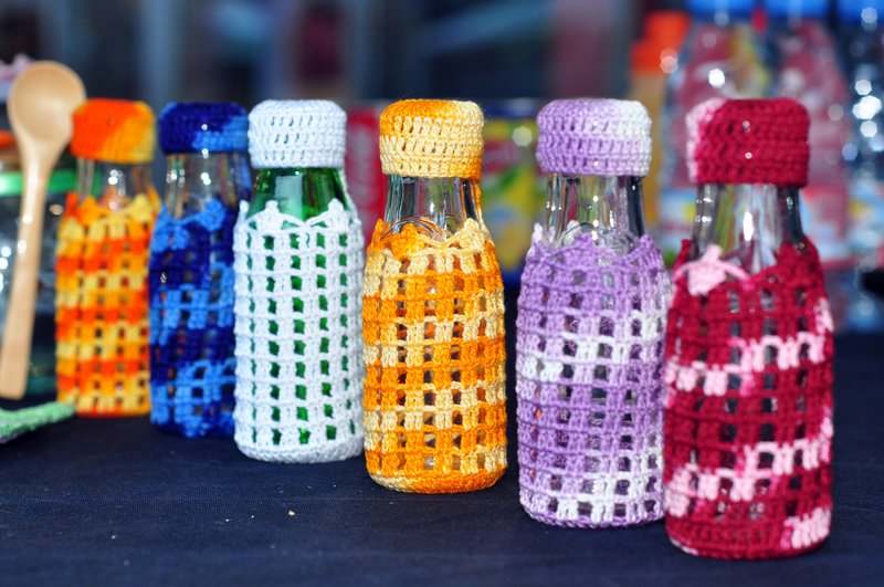 looking for  patterns - bottles