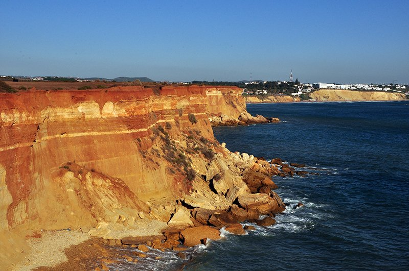 Conil's cliffs