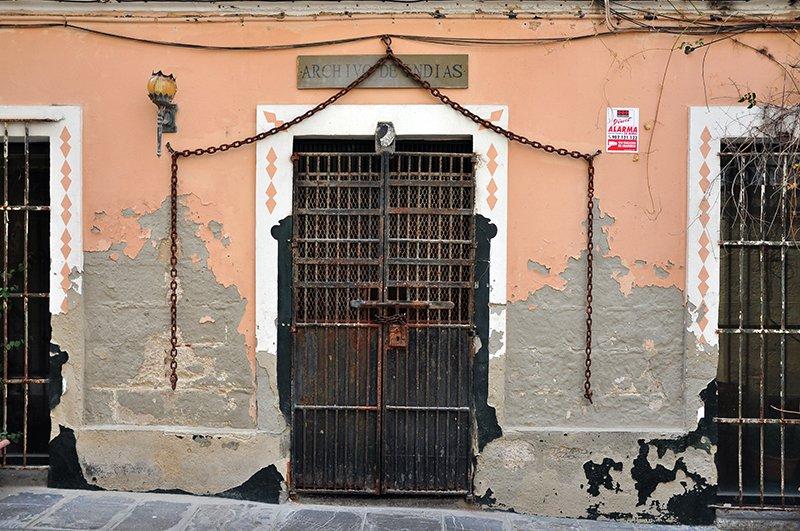 """Old """"ARCHIVO DE INDIAS"""""""