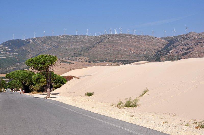 Punta Paloma dune