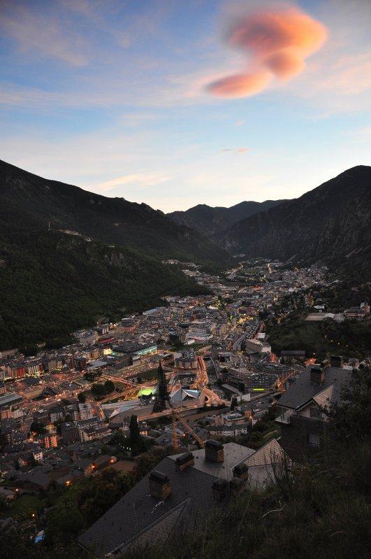 Andorra la Vella view