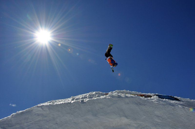 Snowboard competition
