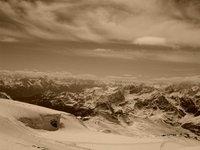 Looking West to France  Klein Matterhorn 3883m