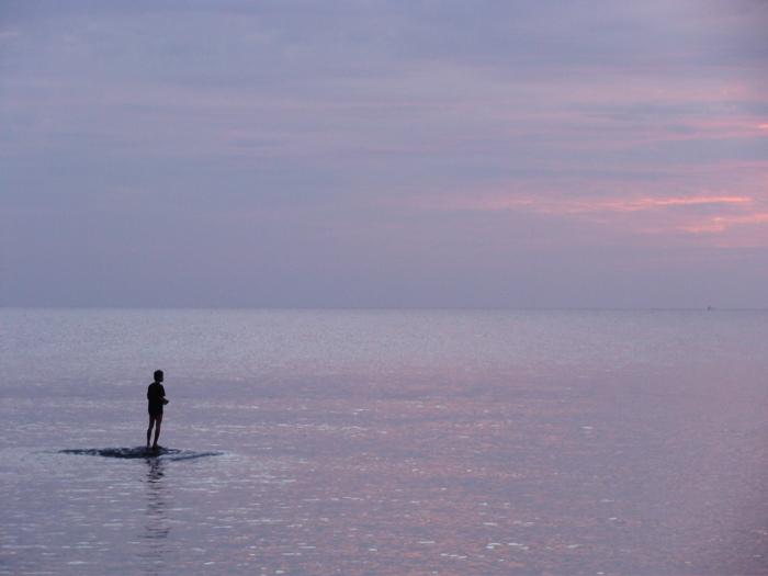 THAI - Fishing sunset