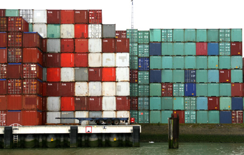 Container Landschaft