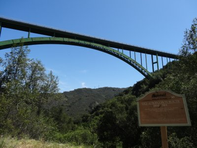 April 11 - Cold Spring Arch Bridge & Sign
