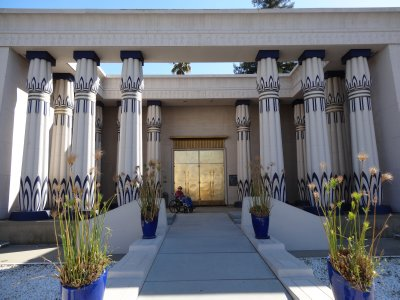 April 19 - Egyptian Museum, Exterior Front Entrance