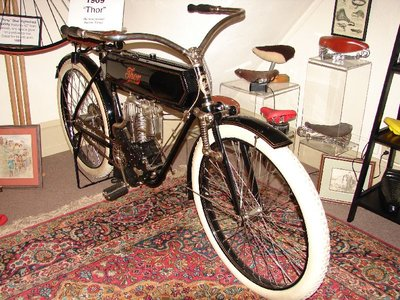 Day 77 - Velocipede Museum, 1909 Thor