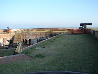 Day_101_-_Fort Macon, View of_Ocean
