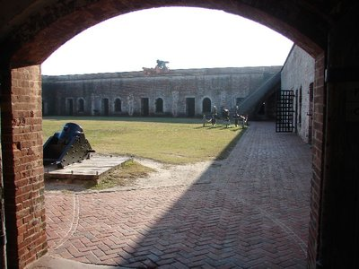 Day_101_-_Fort Macon, Gate