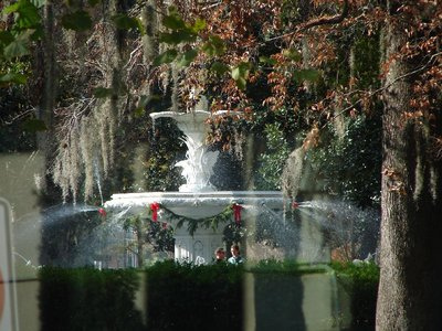 Day_110_-_Savannah, Fountain in Forsyth Park