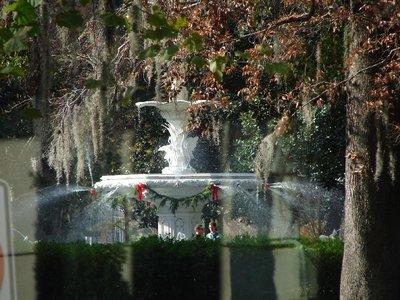 Day_110_-_Savannah, Fountain in Forsyth Park