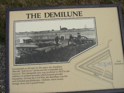 Day_111_-_Fort Pulaski, Demilune Photo