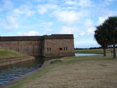 Day_111_-_Fort Pulaski, Wall &#38; Moat
