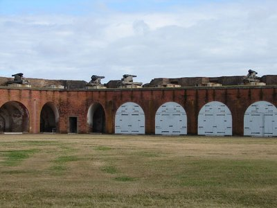 Day_111_-_Fort Pulaski, Interior