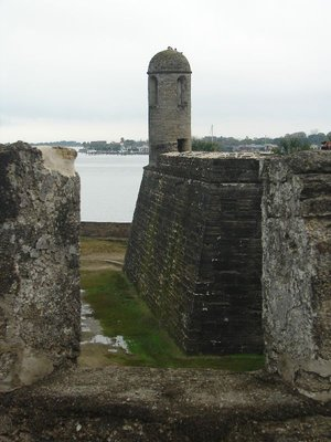 Day 134 - Castillo de San Marcos, SE Bastion