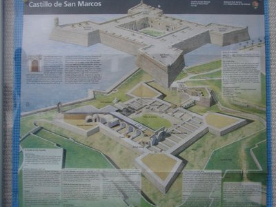 Day 134 - Castillo de San Marcos, Drawing