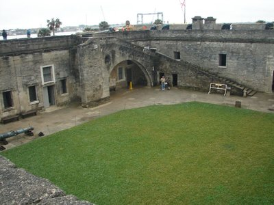 Day 134 - Castillo de San Marcos, Steps to Gun Deck