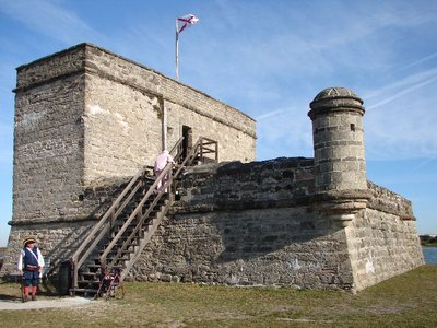 Day 135 - Fort Matanzas, Back Side