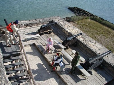 Day 135 - Fort Matanzas, Gun Deck