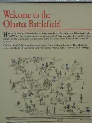 Day 136 - Olustee BF, Map