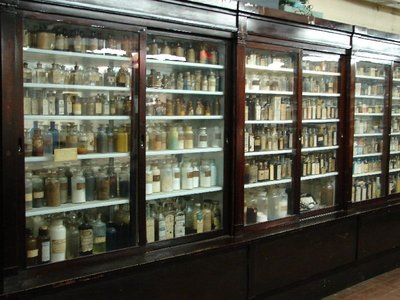 Day 136 - Old Drug Store Shelves