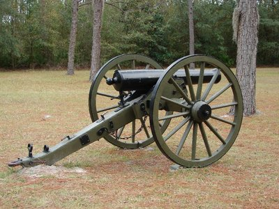 Day 136 - Olustee BF, Cannon