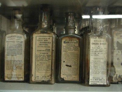 Day 136 - Old Drug Store Shelf1